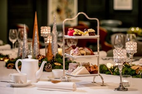 Traditional or Prosecco Afternoon Tea for Two at 4* Hilton London Olympia, Society Bar and Restaurant