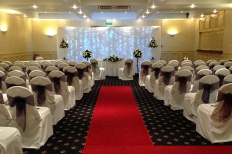Wedding Package Day and 75 Evening Guests or Only 75 Evening Guests at The Best Western Valley Hotel