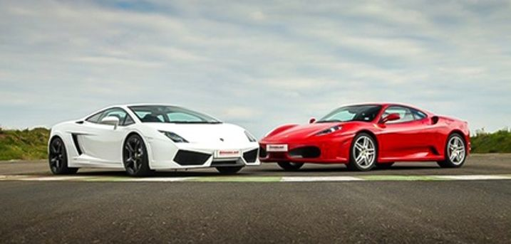 Sports Car or Supercar Experience in One or Two Cars on Up to Six Laps at Drive Me, Four Locations