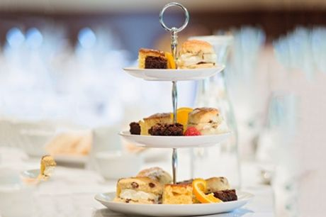 Two AA Rosette Afternoon Tea with a Glass of Prosecco for Two or Four at The Best Western Valley Hotel