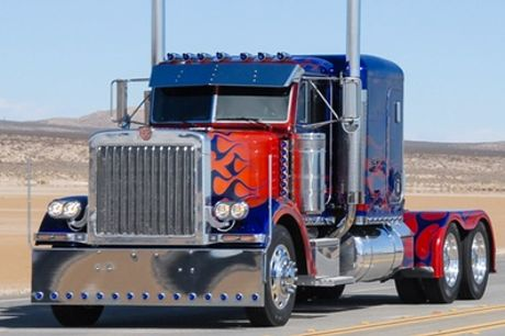 Transformers Optimus Prime Truck Driving Experience at Car Chase Heroes
