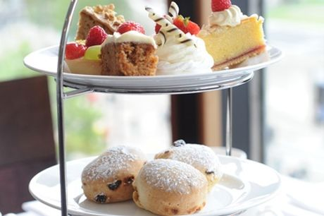 Traditional Afternoon Tea for Two or Four at Mercure Bewdley The Heath Hotel
