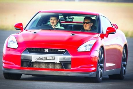 Three, Six or Nine Miles in Nissan GTR Which Appeared in Fast and Furious Movie with Car Chase Heroes