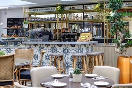 Afternoon Tea for Two or Four with Bubbles at The Yorkshire Bar & Grill at DoubleTree By Hilton York