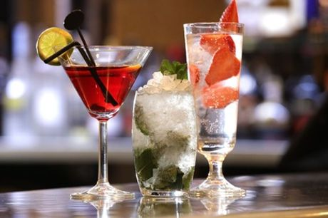 Cocktail and Nibbles for Two or Four at The Yorkshire Bar & Grill at DoubleTree By Hilton York