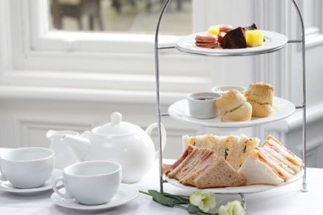 Afternoon Tea with Optional Prosecco and Entry to York Bird of Prey for Two or Four at Best Western Burn Hall Hotel