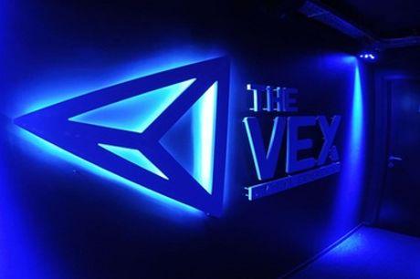 """Virtual Reality-game """"Social Room"""" van 60 of 120 min. voor 2-4 personen vanaf € 19,99 bij The Vex in Louvain-La-Neuve"""