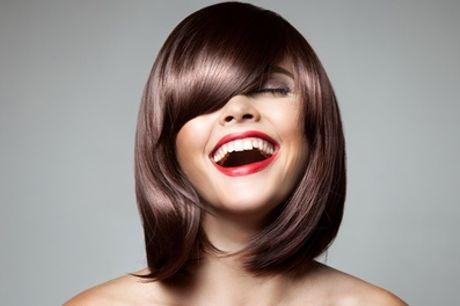 Damenhaarschnitt opt. mit Foliensträhnen, Balayage oder Biokeratin bei Miro Haarkunst (bis zu 66% sparen*)