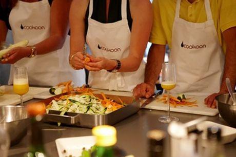 4 Std. Tapas-Kochkurs für 1 oder 2 Personen im Cookoon (bis zu 45% sparen*)