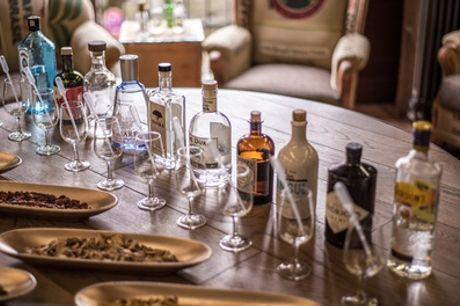 2 Stunden Gin-Tasting für 1 oder 2 Personen bei Kaffeebrewda (57% sparen*)