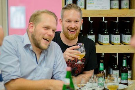 """2 Std. Craft-Beer-Tasting inkl. Seminar sowie Brot und Dips für 1 od. 2 Personen bei """"VonFreude"""" (bis zu 54% sparen*)"""
