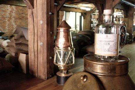 2 Stunden Gin-Tasting mit 10 hochwertigen Sorten für 1 oder 2 Personen im Kaffeemuseum Burg (47% sparen)