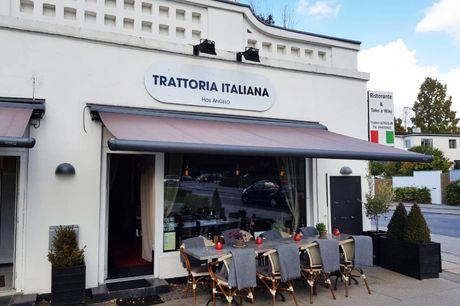 Spar 15% i aften: Oplev autentisk italiensk stemning og madlavning i Charlottenlund. Trattoria Italiana serverer klassiske italienske retter i en hyggelig atmosfære. Bestil bord med R2N og få rabat på både mad og drikke.