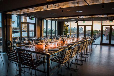 Spar 10% i aften: Oplev italiensk cuisine i særklasse samt en forblændende udsigt over byen i ægte loungestemning hos Tramonto. Book hér og få rabat på hele regningen i aften!