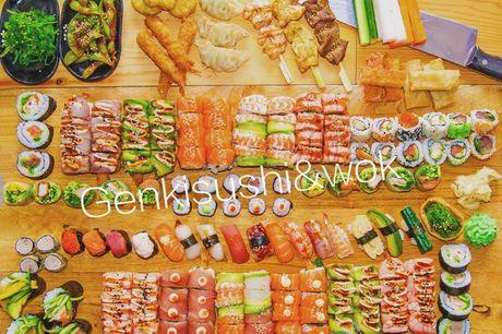Spar 10% i aften: Genki Sushi på Frederiksberg tilbyder all-you-can-eat til en virkelig god pris. Du kan vælge mellem et stort udvalg og smage dig rundt i det japanske køkken. Book med R2N og få rabat på hele regningen i dag!