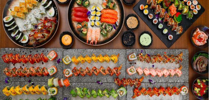 Spar 10% i aften: Kami Sushi på Frederiksberg tilbyder all-you-can-eat, hvor du kan prøve lidt af hvert. Book via R2N og få rabat på hele regningen.