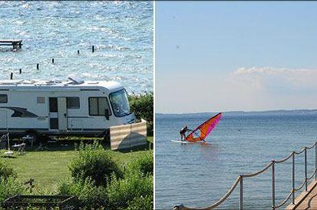 Aktiv eller afslappet camping på Langeland - du bestemmer! Velkommen til Feriepark Langeland Camping og Hytter! - 3 overnatninger for 2 personer i egen medbragt campingvogn, telt eller camper, værdi kr. 711,-