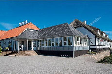 Weekendophold med gourmetmad for 2 - Tag på et dejligt weekend gourmetophold på Hotel Årslev Kro. 2 overnatninger for 2 inkl. morgenmad, 2 retters menu, 5 retters gourmetmiddag mm. værdi 5000,-