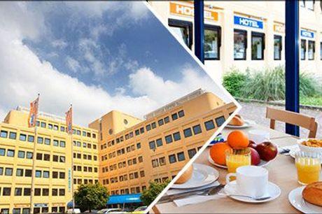 Billig tur til Amsterdam - Ophold for 2 pers. inkl. morgenbuffet på A&O Hotel Amsterdam Zuidoost, vælg ml. 2 el. 3 nætter, værdi op til kr. 2385,-