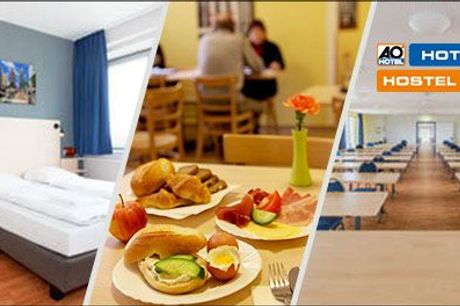 Oplev Berlin med dette tilbud! - Ophold for 2 pers. på A&O Hotel i Berlin - 2 el. 3 nætter, vælg ml. 3 hoteller, værdi op til kr. 2385,-