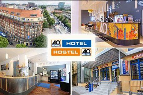 Besøg Europas skønne storbyer! - Ophold for 2 pers. på A&O Hotels and Hostels - 2 el. 3 nætter, vælg ml. 19 forskellige europæiske byer, værdi op til kr. 2585,-