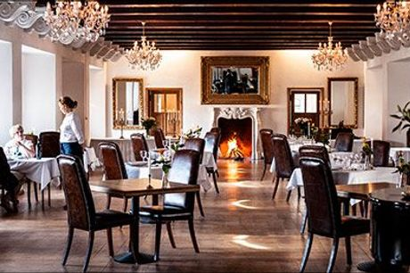 Romantisk gourmetophold for 2 personer - Skønt gourmetophold i det Sydfynske øhav. I får 1 overnatning for 2 med gourmethovedret, morgenbuffet, rundvisning mm. Værdi  kr. 2785,-
