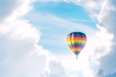 Wertgutschein über 100 € oder 200 € anrechenbar auf eine Ballonfahrt für 1 oder 2 Personen bei Sachsen Ballooning