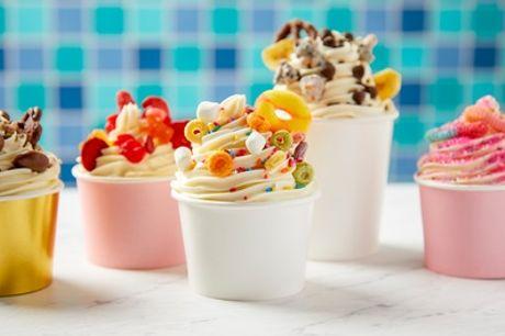 Wertgutschein über bis zu 28 € anrechenbar auf Frozen-Joghurt mit Toppings bei Eis Café Tiziano – Leipzig
