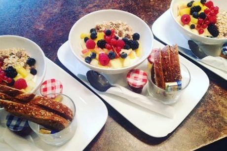 Langschläfer-Frühstück für 2 oder 4 Personen im Cafe Gollier (bis zu 49% sparen*)