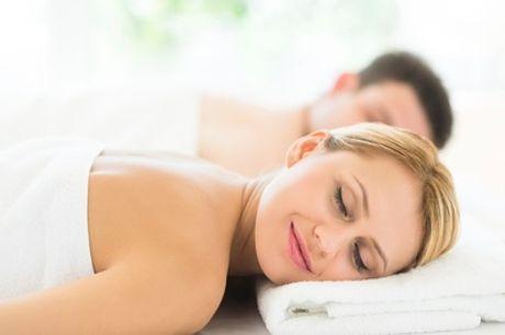 Circuito spa para 2 con masaje, cava y opción a bombones o kit romántico y cena desde 29,95 € en Five Senses Spa