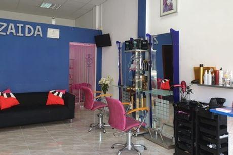 Sesión peluquería con lavado, corte, peinado y opción a tratamiento alisador desde 9,95 € en Zaida Peluqueros
