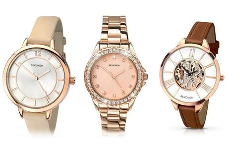 £19.99 instead of £50 (from Dream Price Direct) for a Sekonda watch - choose from three designs - save 60%
