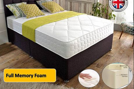 From £159 for a cool-flex full memory foam mattress, 2 in  or 3 in of memory foam from Mattress Haven - save up to 80%