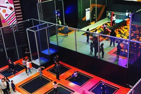 Trampoline Session for Toddler at Zap Space