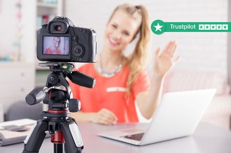 £12 instead of £100 for an accredited blogging or vlogging course, or £19 for both courses from New Skills Academy - save up to 88%