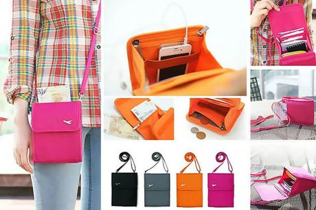 From £4.99 for a travel document handbag - 4 colours! from London Exchain Store - save up to 75%