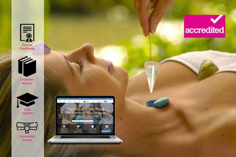 £14 instead of £199 for an accredited crystal healing diploma course from Harley Oxford - save 93%