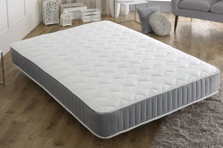 From £49 for a sprung cool-touch quilted memory sprung mattress from Mattresses Haven - save up to 88%