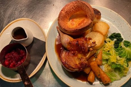Michelin-Listed Three-Course Sunday Roast with Prosecco for Up to Four at The Clock N8