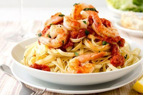Pasta und 1 Karaffe Landwein (0,75 l) für 2 oder 4 Personen im Gecko Torhaus (bis zu 44% sparen*)