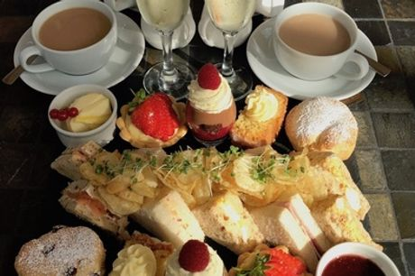 Afternoon Tea for Two or Four with Optional Glass of Prosecco Each at Tusk Baltic