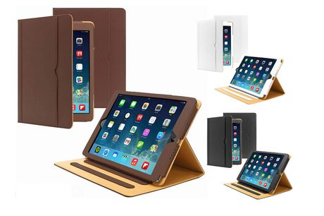£5.99 (from Eshaan) for a smart flip magnetic leather iPad case - choose your size and colour