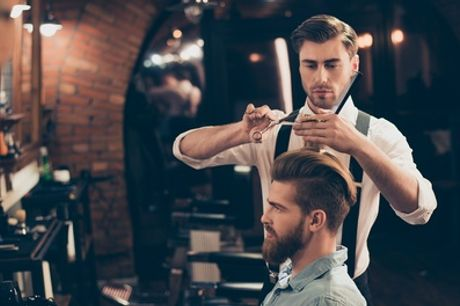 Men's Haircut with Optional Beard or Hot Towel Shave at Le Salon UK (Up to 50% Off)