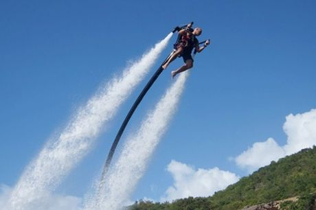 Water Jet Pack Flying Experience at Jetlev-Flyer UK