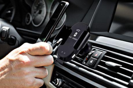 Chargeur de voiture sans fil. Facile à installer.Se branche dans une prise USB.Peut pivoter à 360 degrés pour une visualisation facile.