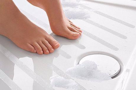 Autocollants de baignoire antidérapants, 6 pièces. Gardez vos sols sans glissades et en sécurité. Facile à installer, il suffit de peler et coller. Fabriqué en PVS imperméable et antidérapant. Parfait pour les foyers avec de jeunes enfants et les personne