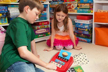 Jeu d'orthographe anglaise pour enfants. Transformez l'apprentissage en un jeu de puzzle amusant pour vos enfants. Des pictogrammes mignons et pleins de couleurs attireront l'attention de votre enfant. Cadeau idéal pour vos amis et des membres de votre fa