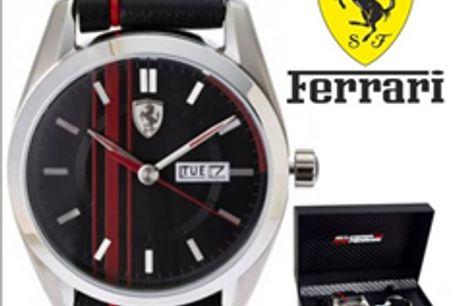 Conjunto Ferrari® Scuderia Black C/ Porta Chaves por 155.10€ PORTES INCLUÍDOS