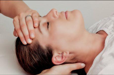 Få løsnet op i krop og sind - Book tid til denne lækre kombinationsbehandling med massage, zoneterapi, kranio sakral terapi og healing, værdi kr. 1000,-