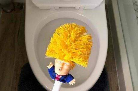 Sjov Donald Trump Toiletbørste